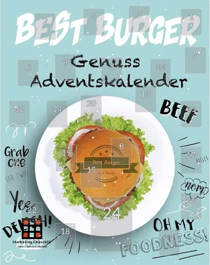 ein Online Adventskalender für den Burgerladen