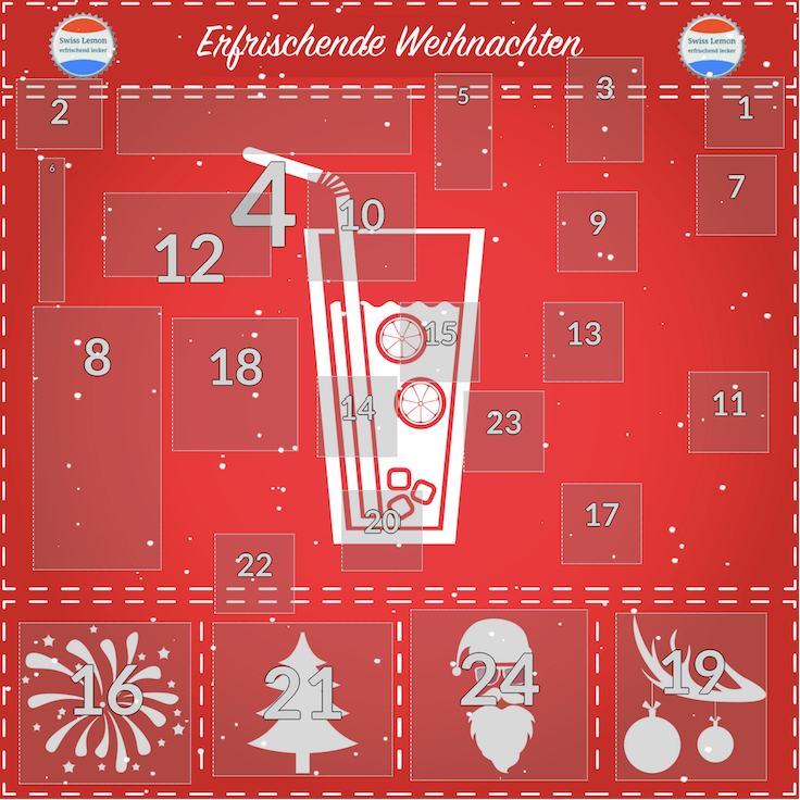 Hipster Lemonade Adventskalender