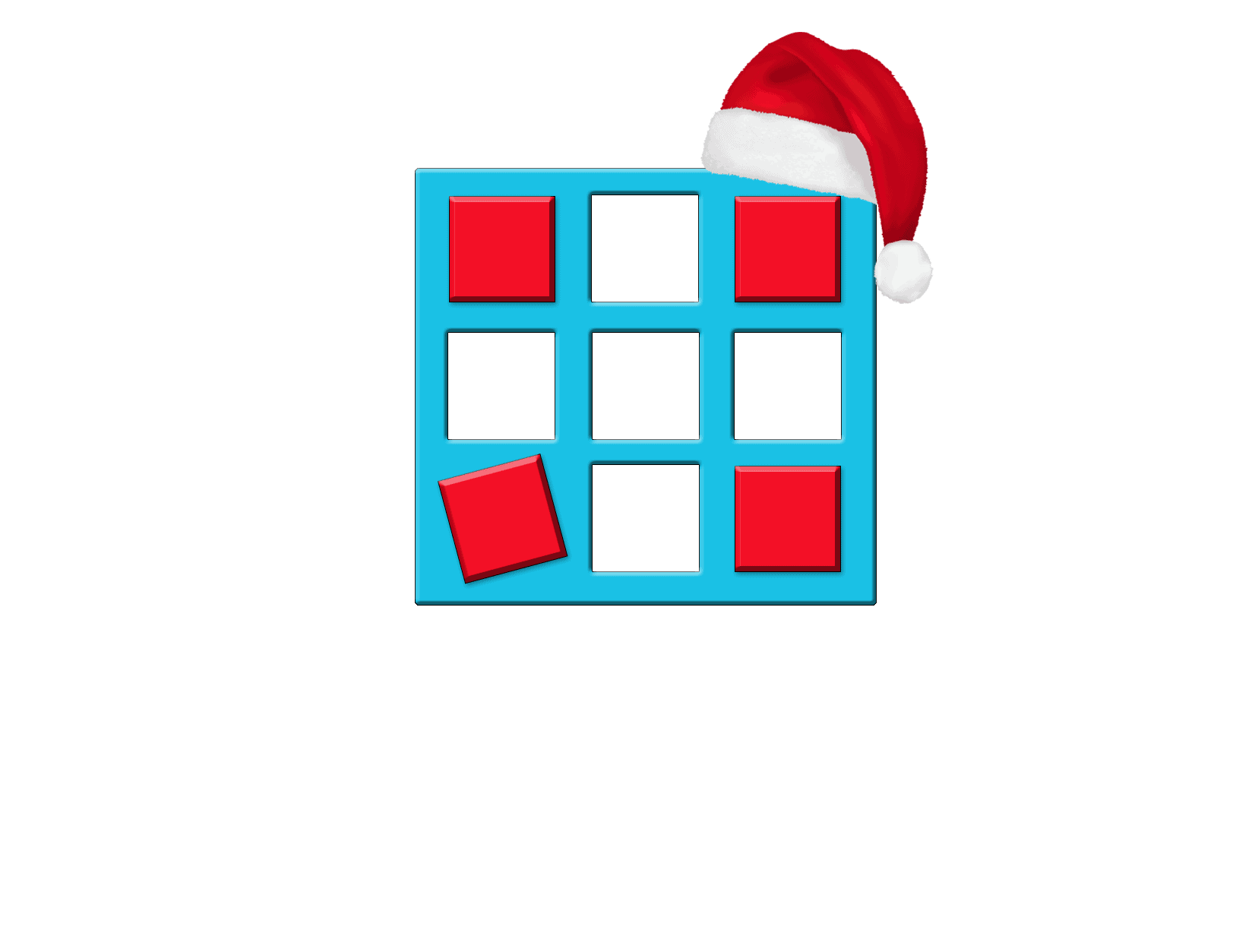 Marketing Chäschtli Large Adventskalender Logo Schrift Weiss